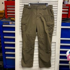 5.11 Tactical Pants Olive Green size 36 x 32